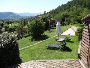 relaxing in nature in Ardeche to the gite La Source